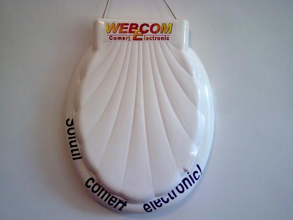 Pana si de ziua mea primesc materiale promotionale cu WEBECOM!