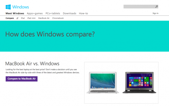Comparatie intre Windows si Macbook, Ipad, ChromeBook – intamplare nefericita