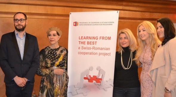 """Lansarea proiectului """"Learning from the best"""" – experiența elvețiană în antidiscriminare ajunge în liceele din România"""