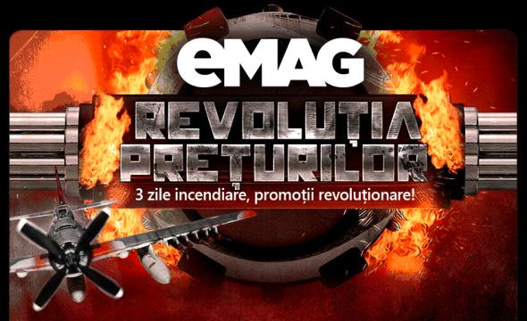 Revoluția prețurilor la eMag începe mâine dimineață, vezi ghidul de supraviețuire!