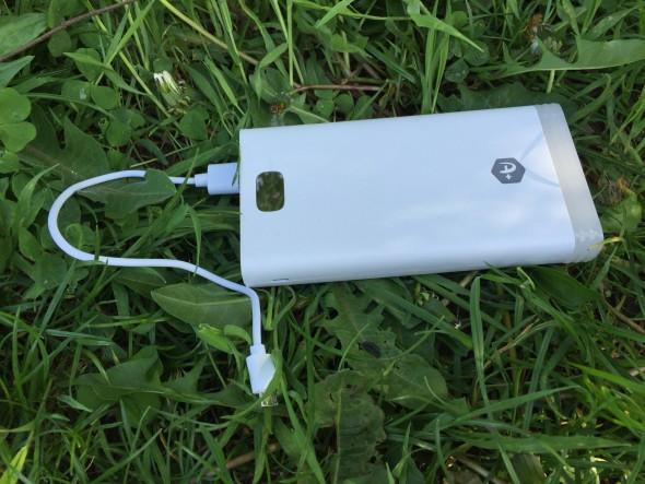 Baterie externa A+ 15000mAh, plus de curent pentru dispozitivele mobile